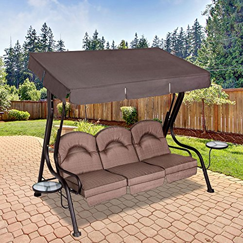 Garden Winds Deluxe 3-Person Replacement Canopy