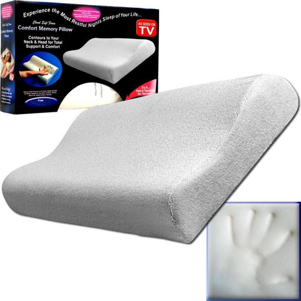 Amazoncom Comfort Memory Pillow Cloud Soft Foam Home Kitchen