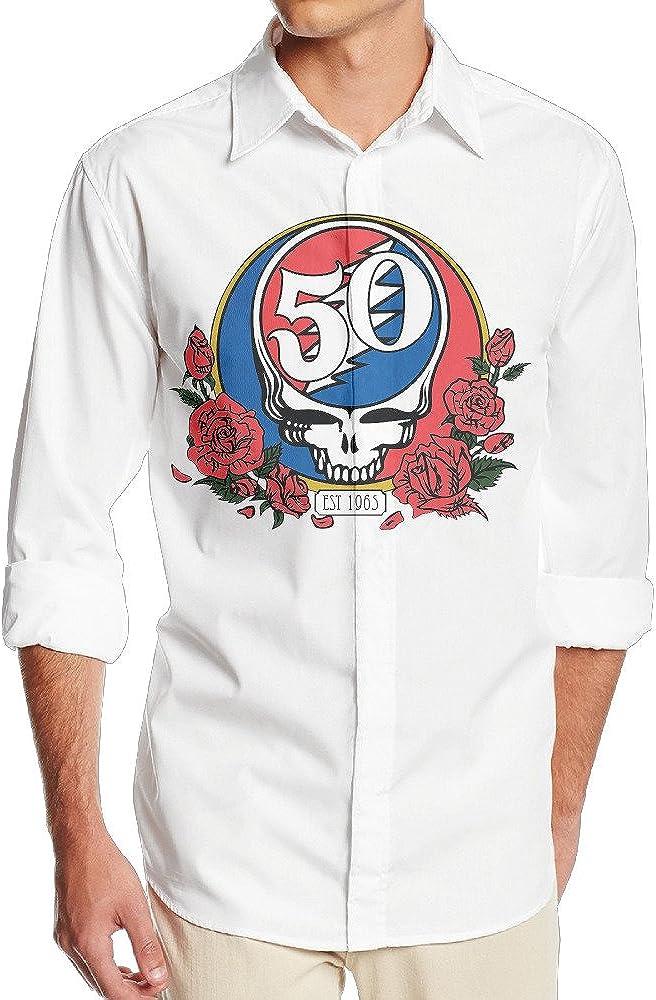 okaka Psychedelic country-Rock América banda 1964 50 sin camisa de vestido de manga larga bolsillo para hombres: Amazon.es: Ropa y accesorios