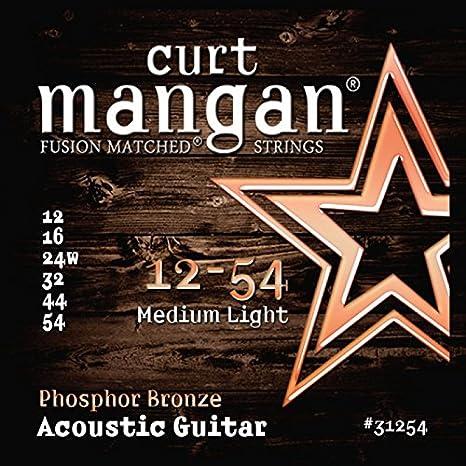 Curt Manganeso Strings 31254Guitarra Cuerdas