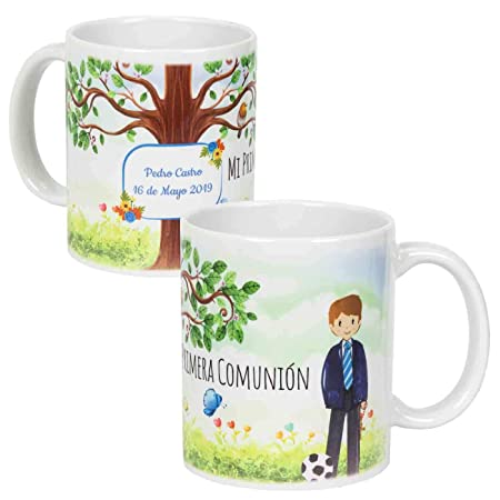 Lote de 6 Tazas de Porcelana Decorativas para Comunión ...