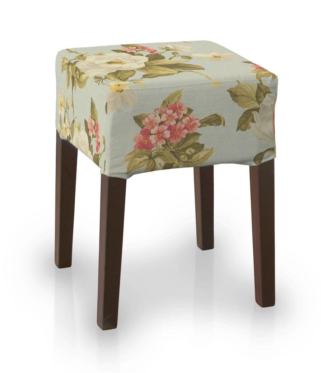 Dekoria IKEA Nils Taburete Funda - Gran Rojo: Amazon.es: Hogar