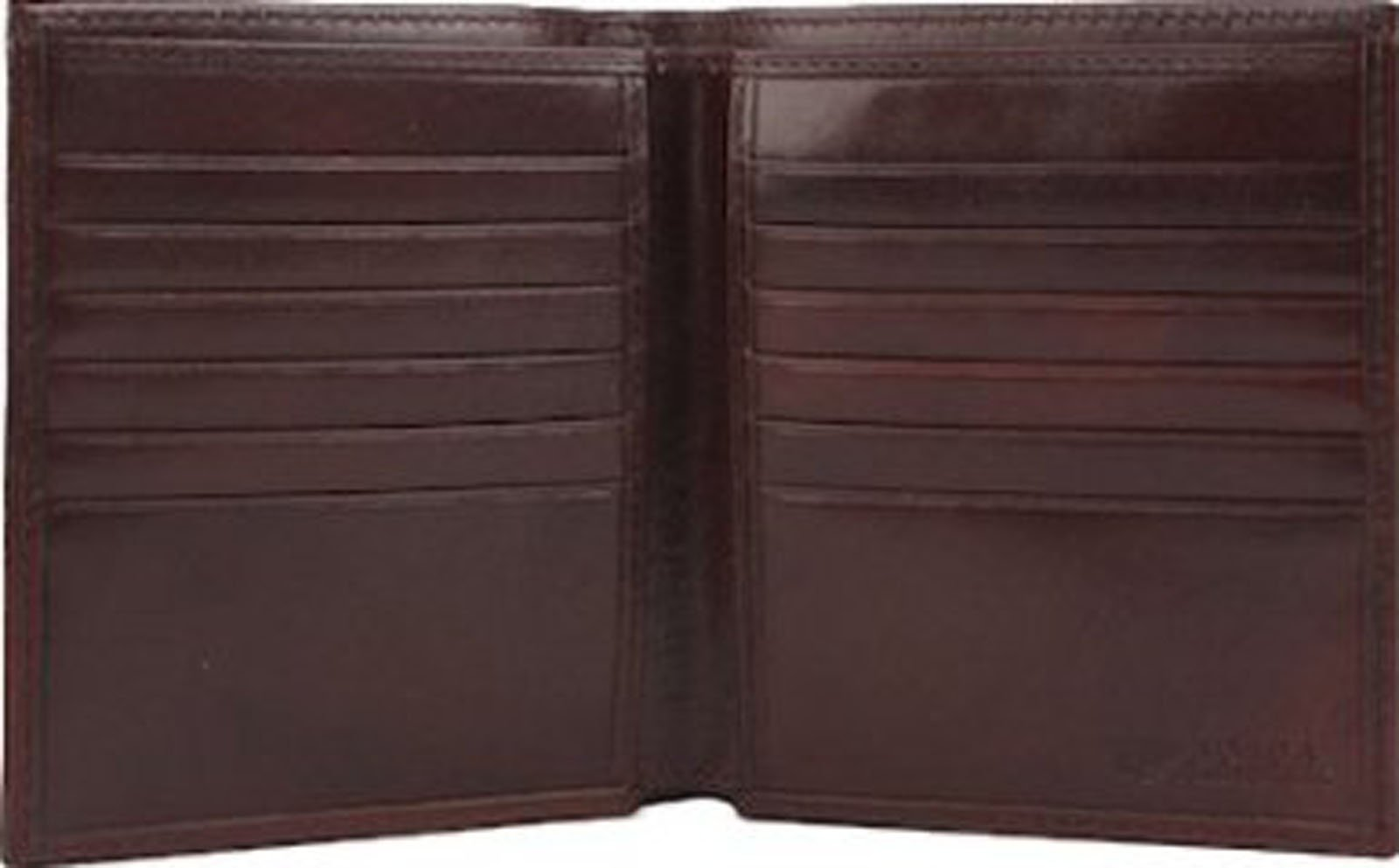 Bosca Old Leather Collection Dark Brown 12 Pocket Bifold Wallet by Bosca (Image #1)