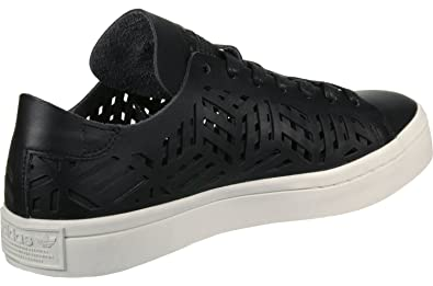 adidas Damen Courtvantage Cutout W Fitnessschuhe Schwarz