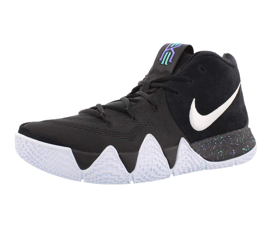 info for d3f01 5dda4 Nike Kyrie 4 Mens Basketball-Shoes 943806-002_11.5 - Black/White/Blue