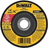 DEWALT DW4514B5 4-1/2-Inch by 1/4-Inch by 7/8-Inch Metal Grinding Wheel - 2 Pack