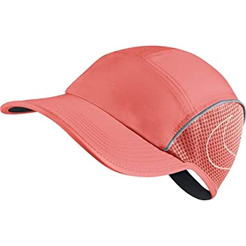5d2de132 NIKE Women's AeroBill Running Cap (One Size, Crimson Pulse): Amazon.ca:  Sports & Outdoors