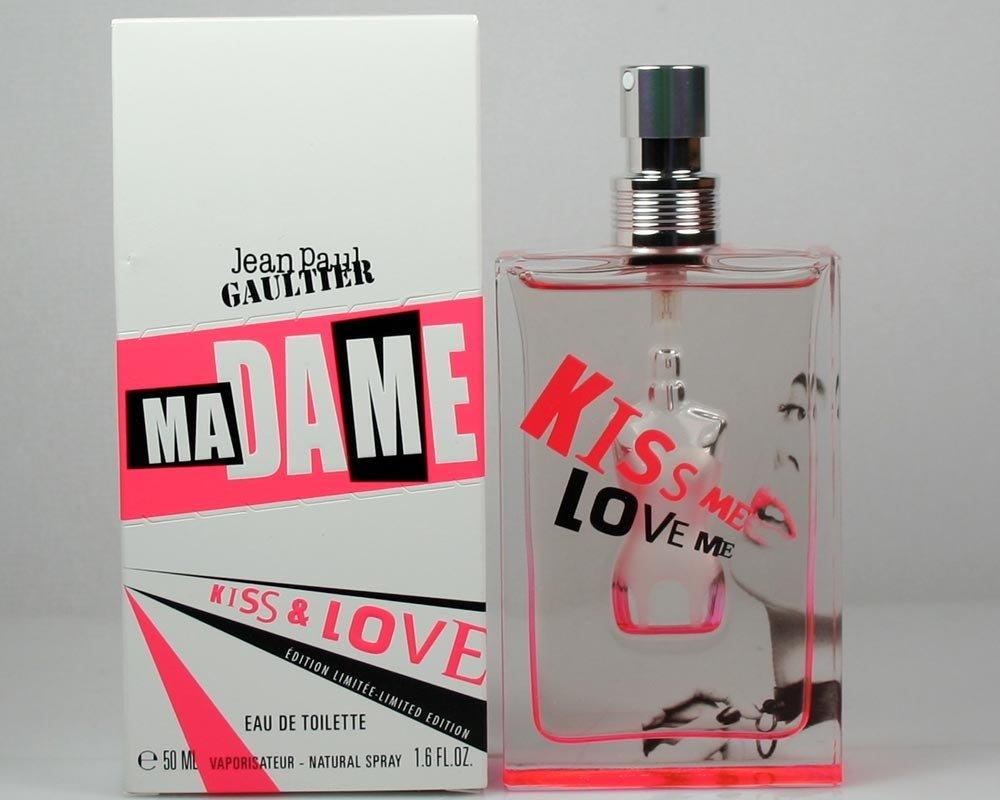 Jean Paul Gaultier Madame Kiss and Love Eau De toilette Spray, Limited Edition for Women, 1.6 Ounce