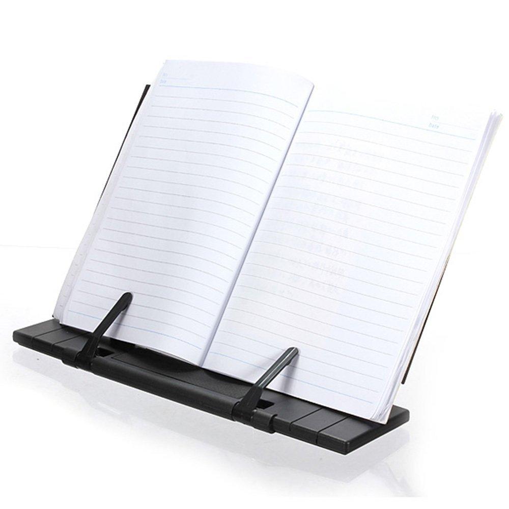 Amazon.com : Bleiou Adjustable Portable Steel Book Document Stand ...