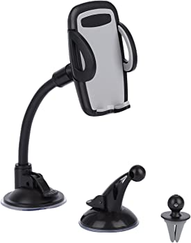 Leshp 3-in-1 Air Vent Cell Phone Car Mount Holder