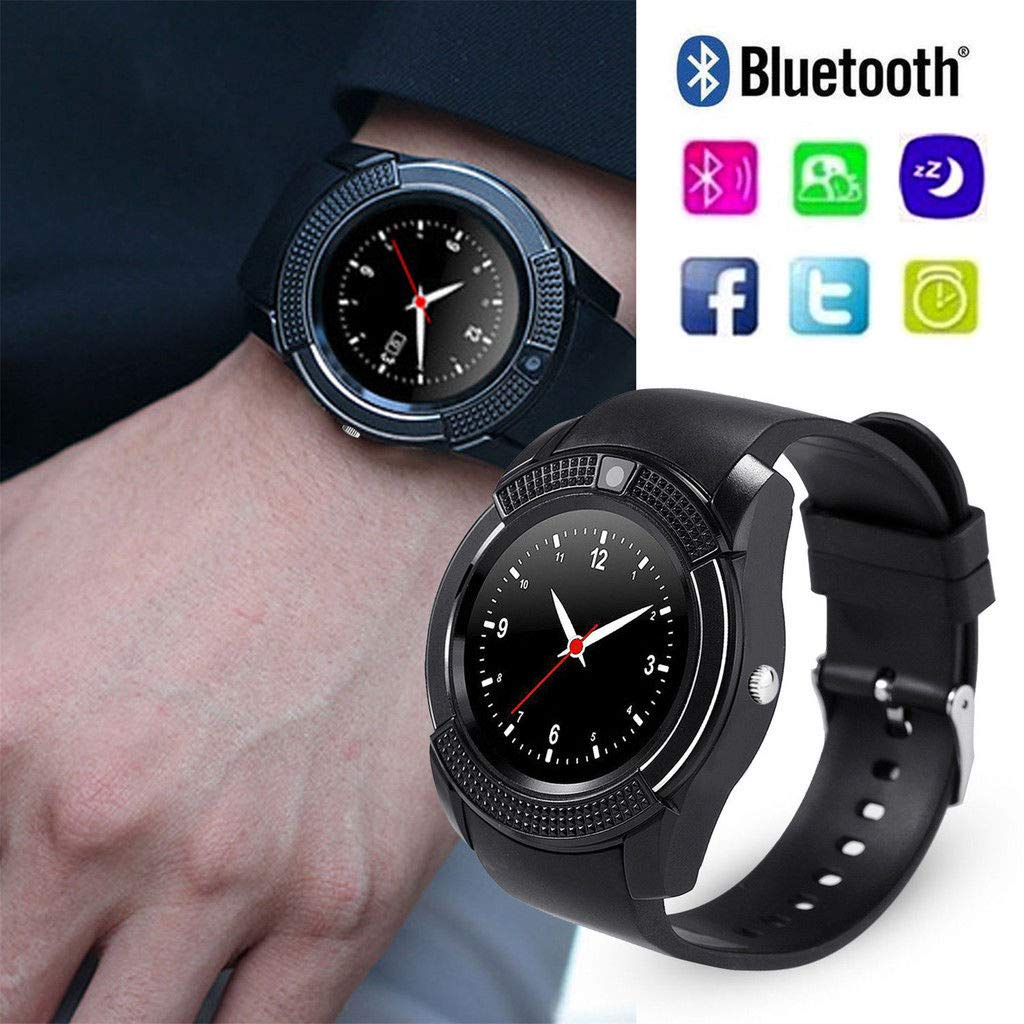 Amazon.com: FidgetFidget Smart Watch Bluetooth Sport Watch ...