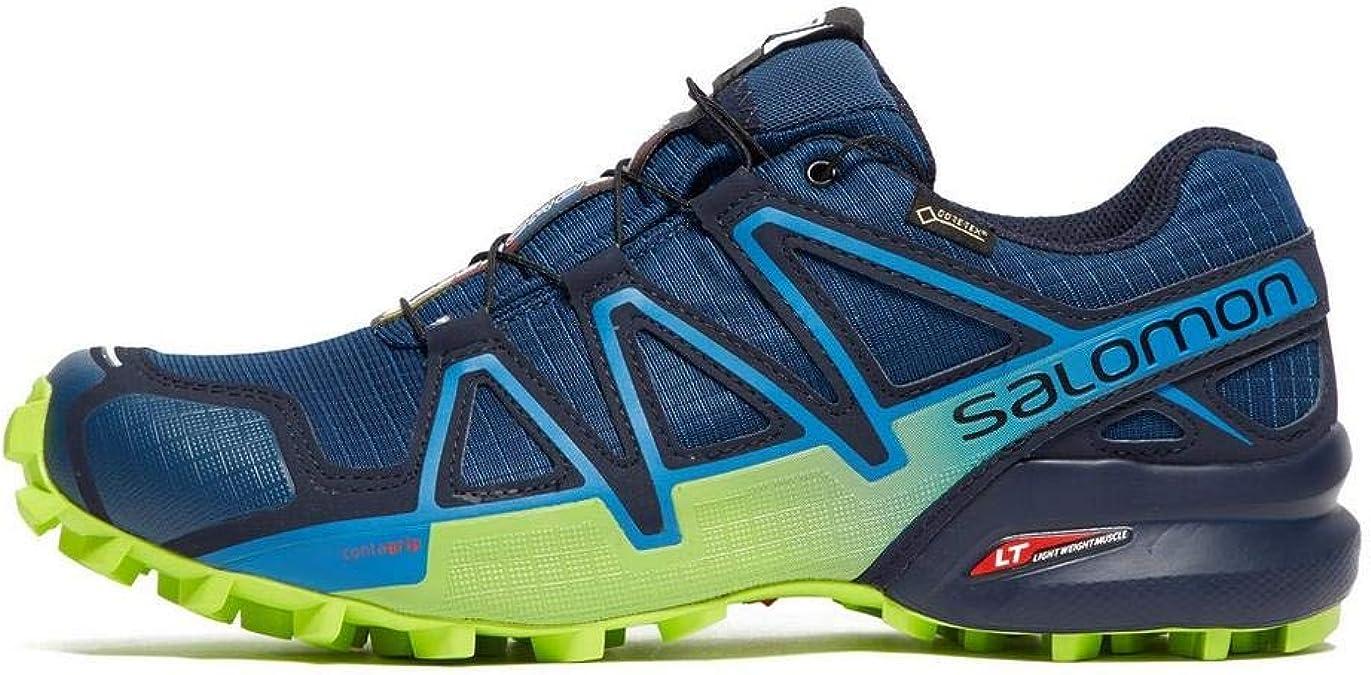 Salomon Speedcross 4 GTX Zapatillas de Trail Running Poseidon: Amazon.es: Zapatos y complementos