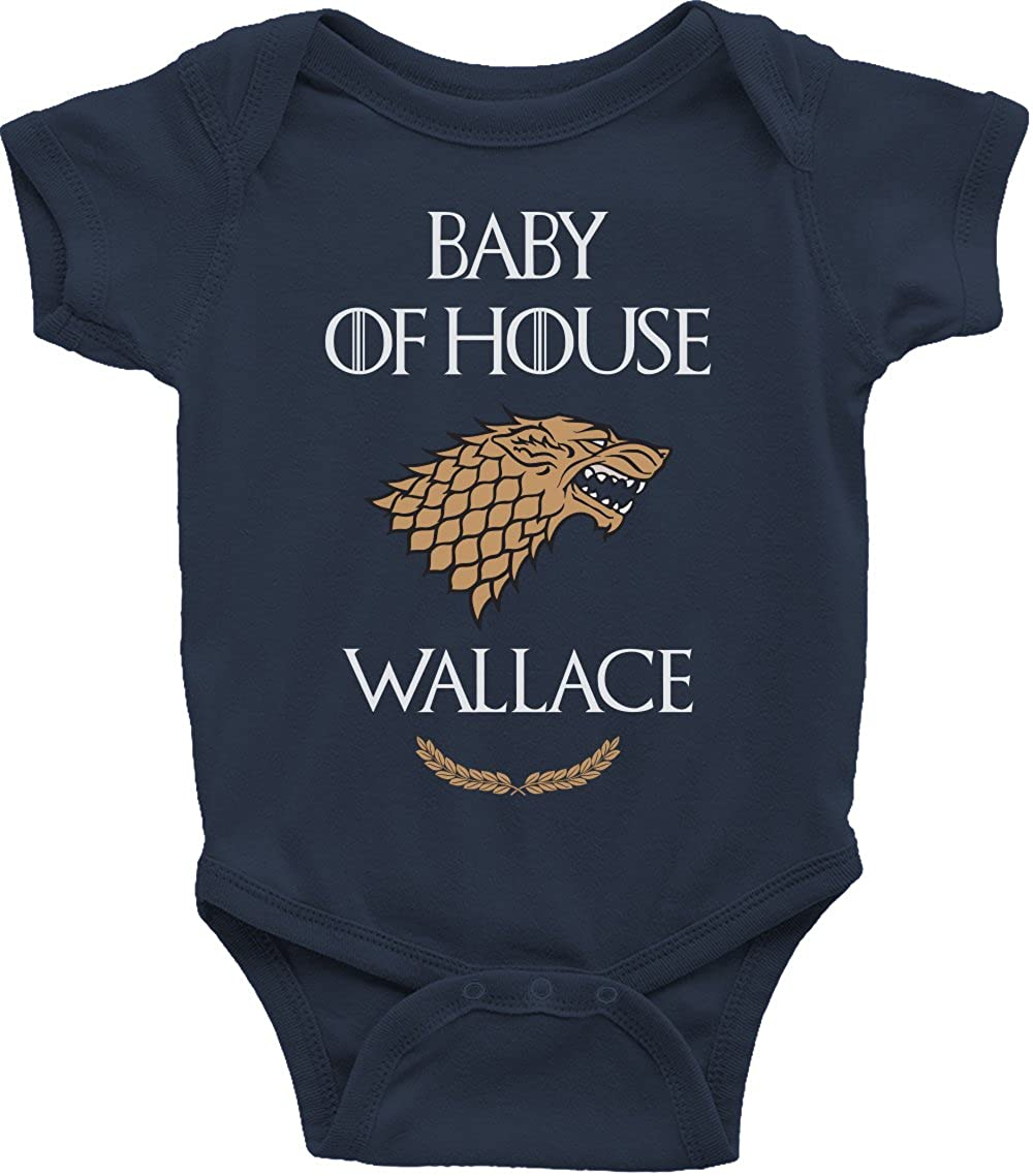 Game of Thrones Baby Onesie Last Name Personalized Trendy Baby Shower and Birthday Gift