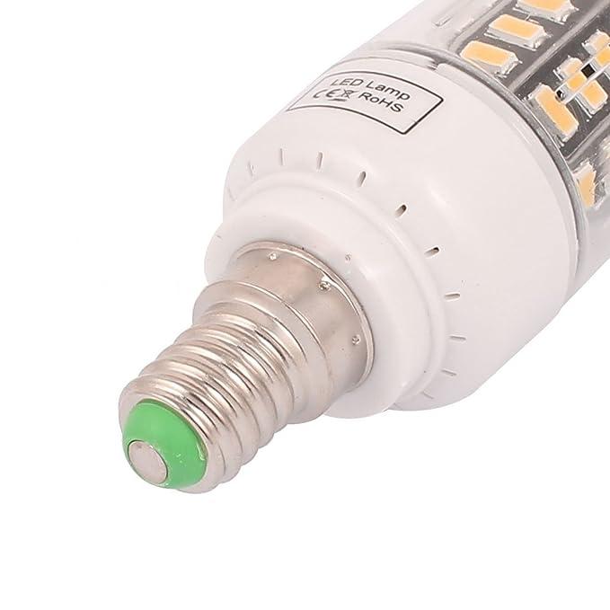 eDealMax corriente constante 85V ~ 265V 3W 40 x IC5736 LED E14 bulbo del maíz lámpara de luz blanca pura - - Amazon.com