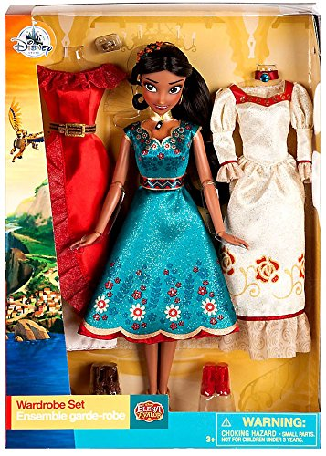 Disney Elena of Avalor Classic Doll and Wardrobe Gift Set - 11 Inch