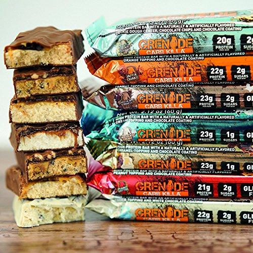 Grenade Carb Killa Chocolate Crunch - 12 Barras: Amazon.es: Salud y cuidado personal