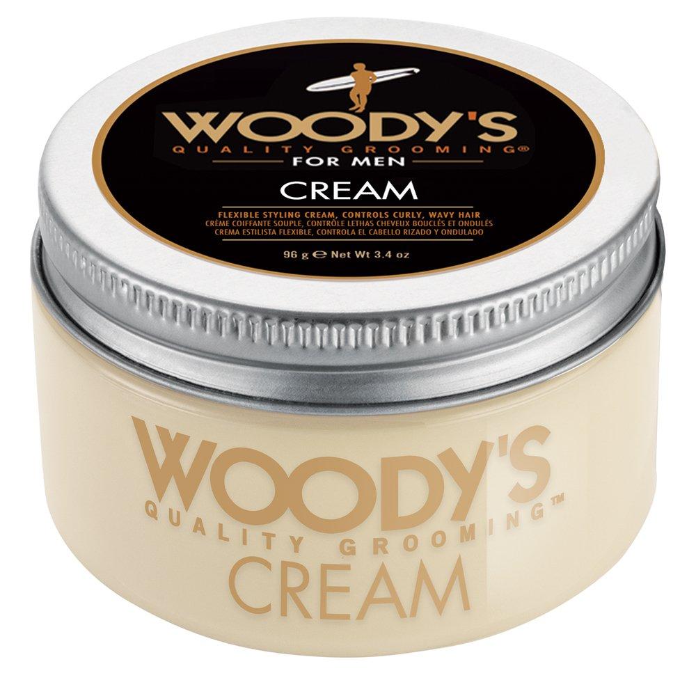 Amazoncom Woodys Flexible Styling Cream For Men Styling Cream