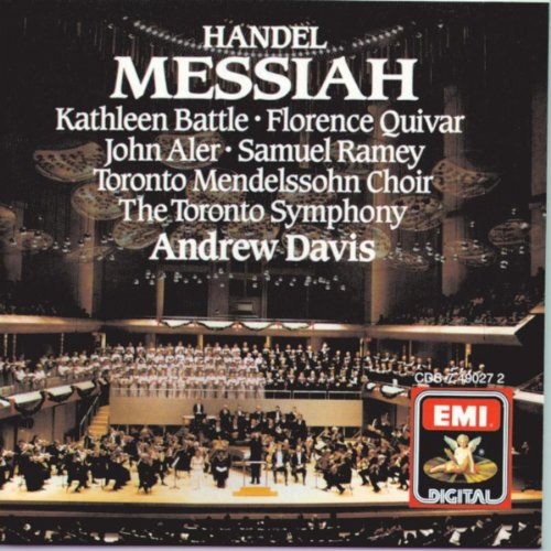 Messiah, Part One: He shall feed His flock like a shepherd (counter-tenor/soprano I) - Florence Counter