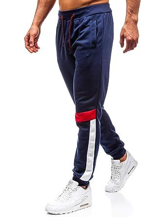 b52063948d5e8a BOLF Herren Sporthose Trainingshose Jogger Fitness Sport Unifarben 6F6 Mix   Amazon.de  Bekleidung
