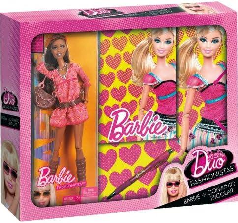 Amazon.es: Mattel Barbie Duo Set Escolar: Juguetes y juegos