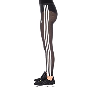 27d7aacc7042 Women's adidas Originals 3-Stripes Leggings In Black: adidas ...