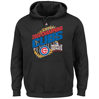 86b23834cd6 Chicago Cubs Youth 2016 World Series Champs Parade Fleece Hoodie Small 8