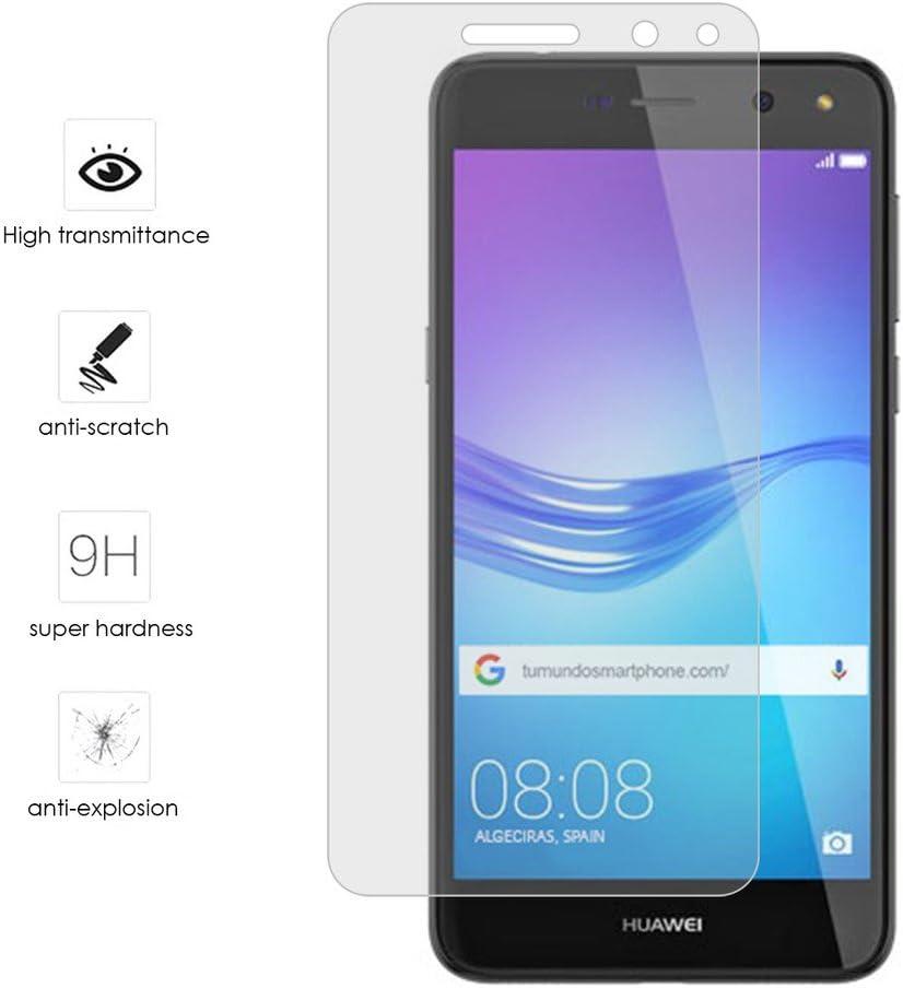 Tumundosmartphone Protector Cristal Templado para Huawei Y6 2017 ...