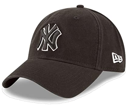 374559300d ... switzerland new york yankees core classic twill black 9twenty hat cap  05c23 95a5a