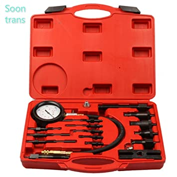 Soontrans Kit de Herramientas para Comprobar la compresión de Motores diésel,medidor de presión del Cilindro diésel (TDI y CDI): Amazon.es: Coche y moto