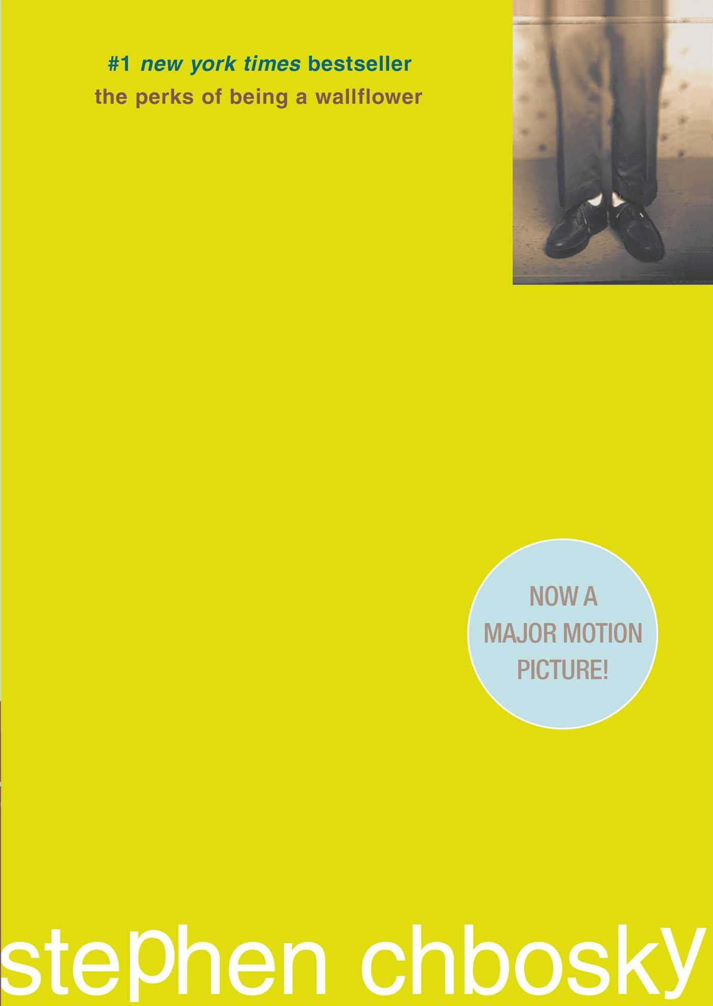 Image result for the perks of being a wallflower original book cover