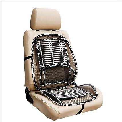 Alftek Funda de cojín para asiento de coche con respaldo lumbar y soporte transpirable