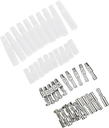 3.9mm Connecteurs De Balle Pas De Isolé Femme /& Mâle Bullet Terminals Japonais