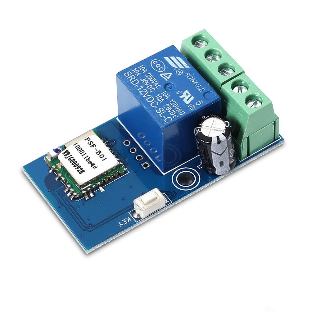 Whdts Wifi Momentary Inching Relay Delay Switch Module Low Power Microcontroller Detecting Open Circuit Very Electrical Smart Home Remote Control Dc 12v Compatible With Ios Andriod 2g 3g 4g Network Amazon
