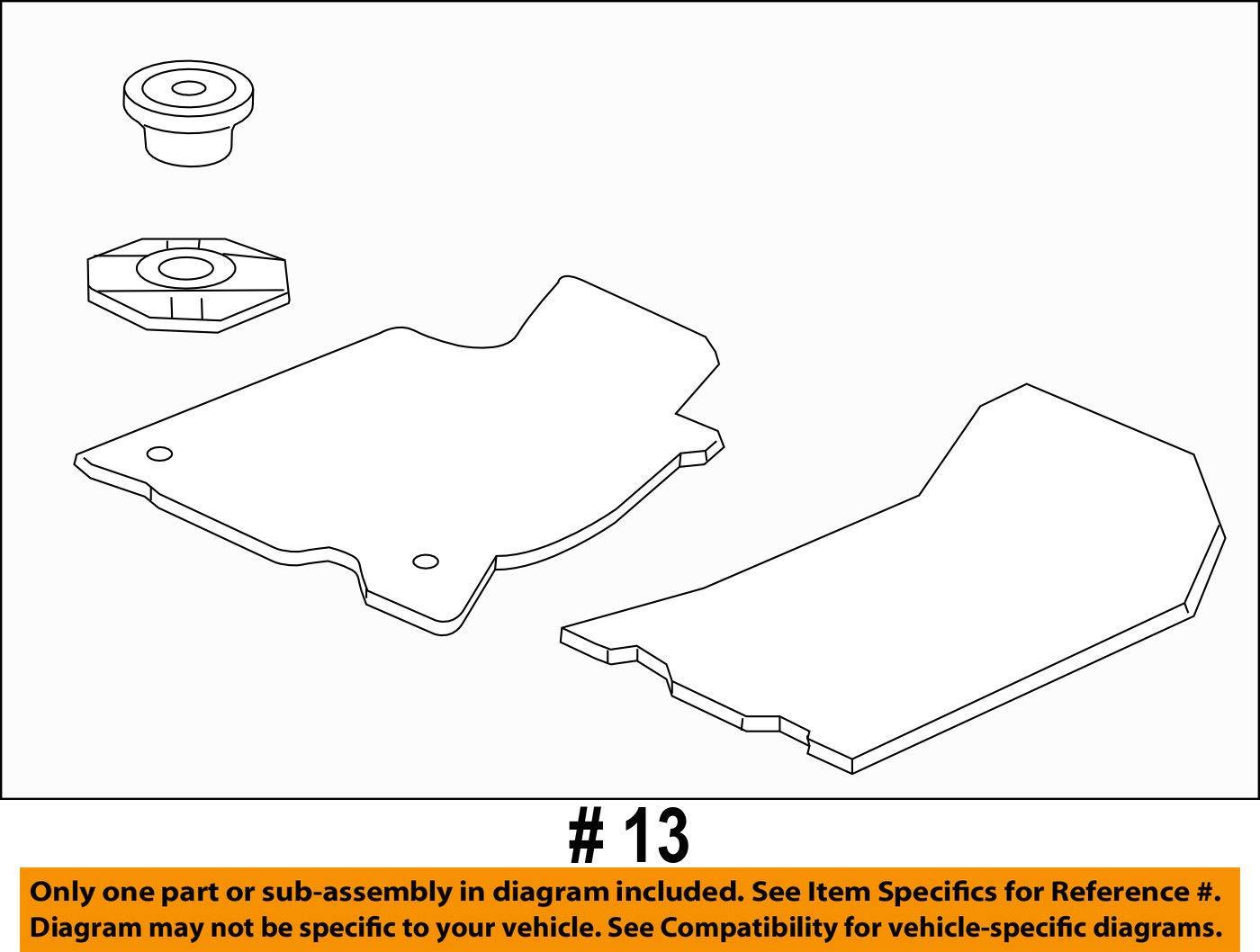 Honda Genuine 83600-SZT-A01ZC Floor Mat Set