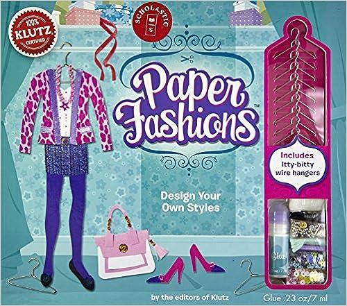 Editors of Klutz - Paper Fashions