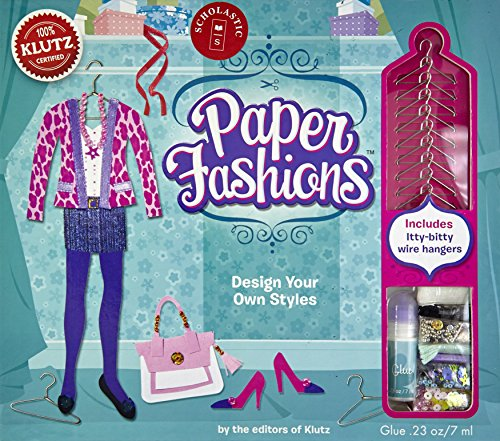 Fashions Paper - Klutz Paper Fashions Craft Kit