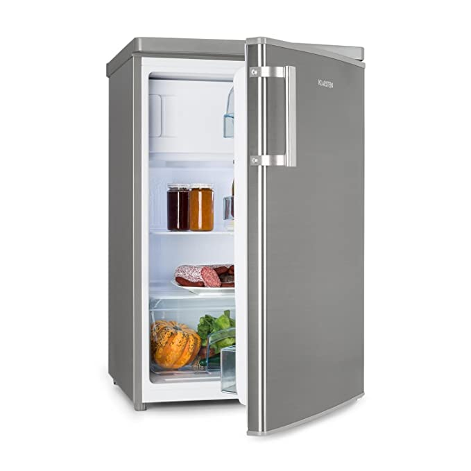Klarstein CoolZone 120 Eco • Nevera combi • Nevera/congelador • Nevera de 103 litros • Congelador de 15 litros • Termostato regulable • 88 cm de alto • 80 W ...