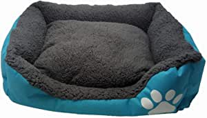 Blue Pet Bed For Dogs & Cats 90x100 CM