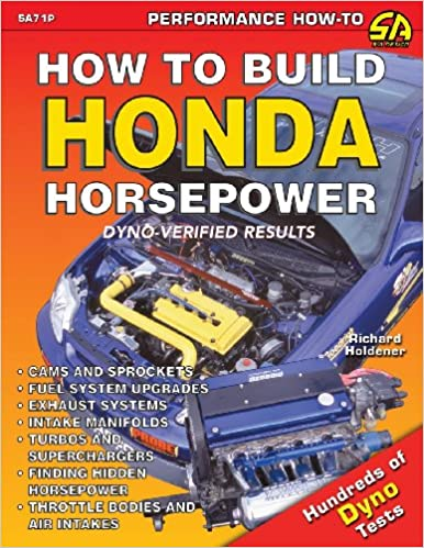 How to Build Honda Horsepower: Richard Holdener: 9781613251119: Amazon.com: Books