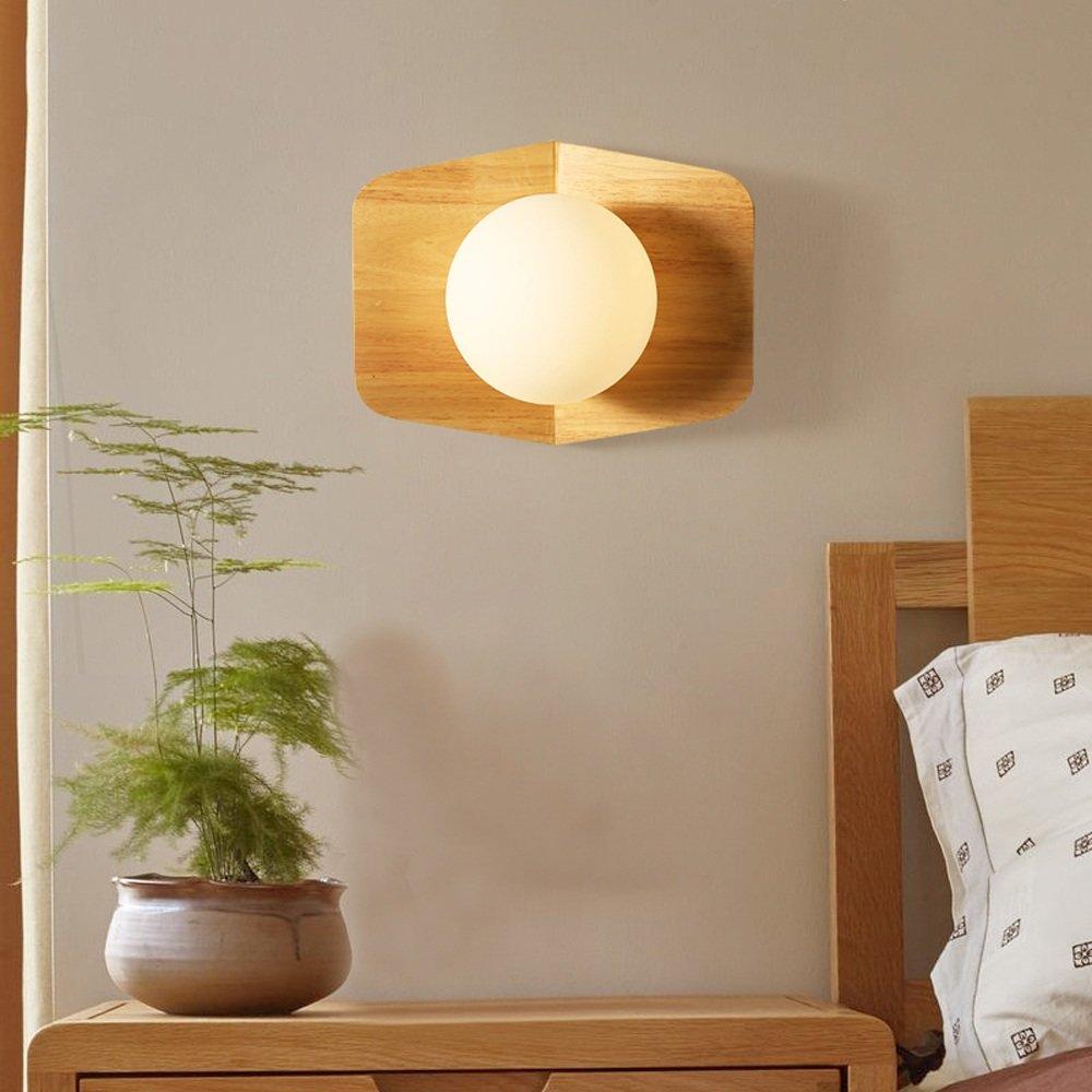 Mini Wandleuchten Loft Vintage Holz Wandleuchten Lampe Minimalistischen Japanischen Indoor E27 Led Wandleuchten Lichter für Wohnzimmer Schlafzimmer Nacht Kinderzimmer Leuchten