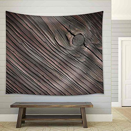 Wood Texture Fabric Wall