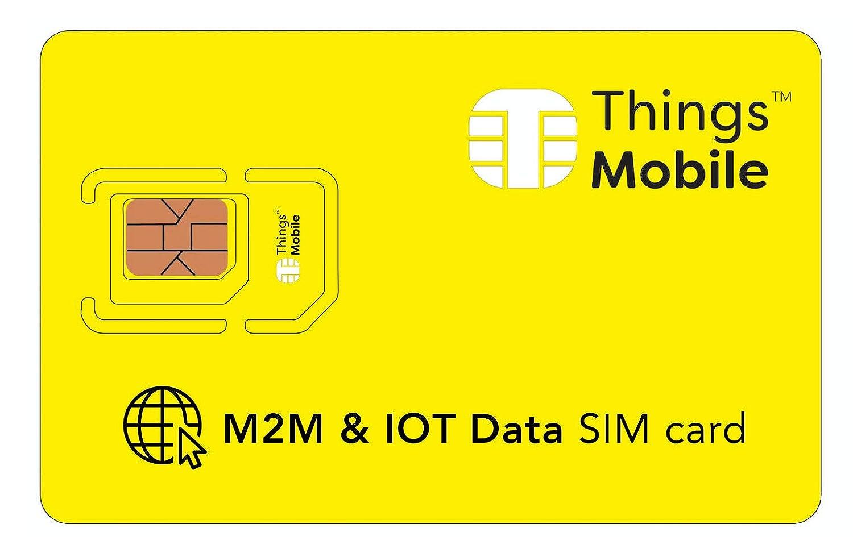 Tarjeta SIM de DATOS - Things Mobile con cobertura global y red ...