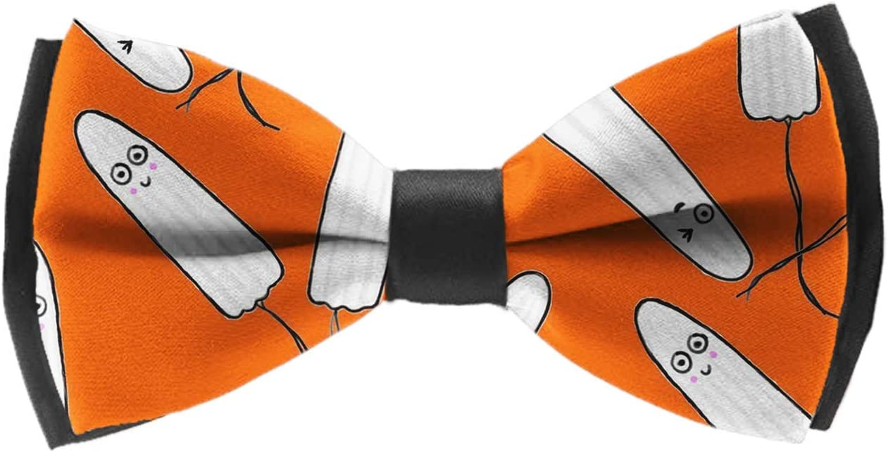 Lemons Formal Pre-Tied Bow Tie Adjustable Length Fashion Bow Ties Party Rave Party School Uniform Creative Bow Ties