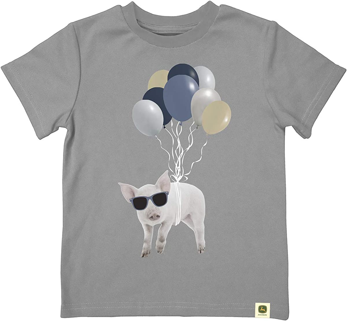 John Deere Infant//Youth Pig and Balloons Ss Tee