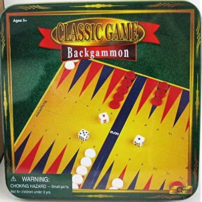 Backgammon Classic Game by Toy Quest: Toys & Games