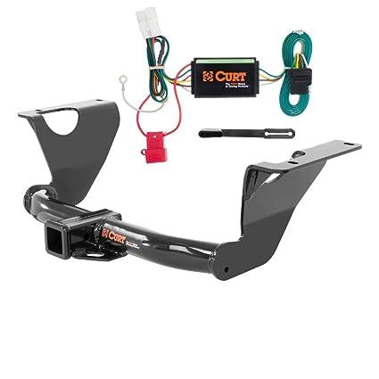 amazon com curt class 3 trailer hitch bundle with wiring for 2014 rh amazon com  2015 subaru outback trailer hitch wiring