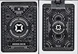 Mechanic Metallic Playing Cards USPCC - Glimmer & Shiner (Shiner Silver)