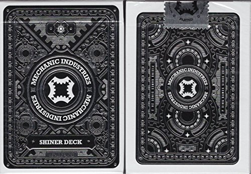 Mechanic Metallic Playing Cards USPCC - Glimmer & Shiner (Shiner (Mechanic Deck)