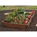 Greenland Gardener Raised Bed Garden Kit – 42″ x 84″ x 8″ Review