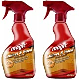 Magic Cabinet and Wood Cleaner, 14 Ounce (2 Pack)